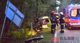 Wypadek - Jedna osoba w szpitalu