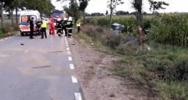 Wypadek na drodze Krasewice - Czartajew - Nie żyje 18-latka