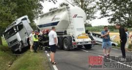 Laskowszczyzna - Wypadek na drodze nr 19
