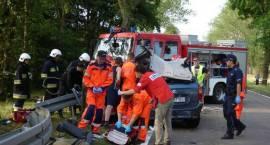 Wypadek koło Andryjanek - 6 osób rannych