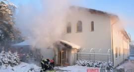 Grabarka - Pożar w Domu Pielgrzyma