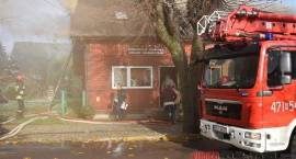 Siemiatycze - Pożar na Zaszkolnej