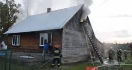 56-letnia kobieta zginęła w pożarze