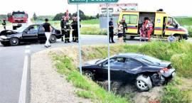 Wypadek na drodze do Ciechanowca