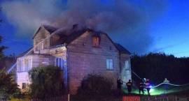 Pożar domu - dwie osoby nie żyją