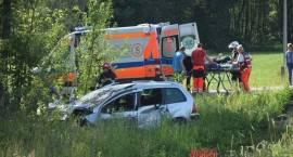 Wypadek - trzy osoby w szpitalu