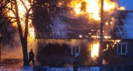 Pożar w Nurcu Stacji - Ośmioro dzieci bez domu
