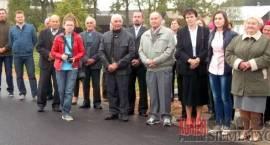 Ciechanowiec - Otwarcie mostu w Kułakach