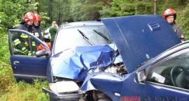 Perlejewo - Wypadek 2 osoby w szpitalu