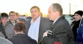 Łosice - Rolnicy dalej blokują drogę w Łosicach