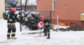Siemiatycze - Uszkodzony gazociąg