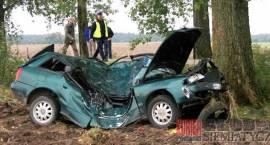 Mierzynówka, gm. Grodzisk - 16-letni kierowca nie żyje