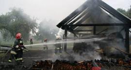 Milejczyce - Pożar stodoły