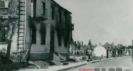 Miasto Siemiatycze zbombardowane - 1941