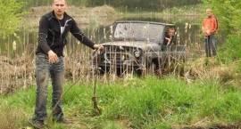 Zlot terenówek - Kosianka Boruty, gm. Grodzisk (video)