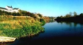 Fotografia. Drohiczyn - widok na rzekę Bug