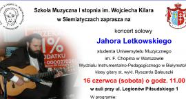 Koncert Jahora Letkowskiego,