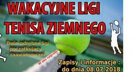 Startuje liga tenisa ziemnego