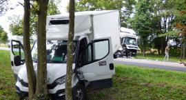 Zderzenie trzech aut koło Andryjanek