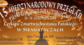 Międzynarodowy Przegląd Pieśni Religijnej i Paralitugicznej w 2018 r.