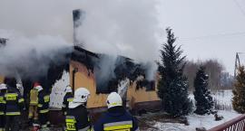 Pożar w gminie Huszlew  - trzy osoby nie żyją