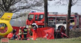 Wypadek – zginęły dwie osoby