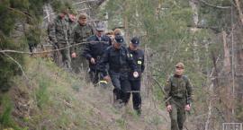 Poszukiwania zaginionej mieszkanki wsi Grabarka