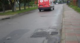 Ulica Słowiczyńska na radzie powiatu