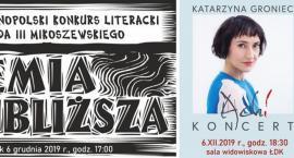Katarzyna Groniec na podsumowaniu XXIV  Ogólnopolskiego Konkursu Literackiego
