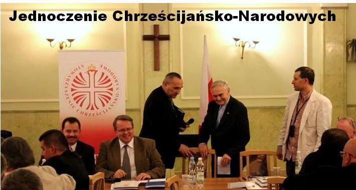 News, Chrześcijańsko Narodowi jednoczą siły Zjazd Założycielski - zdjęcie, fotografia