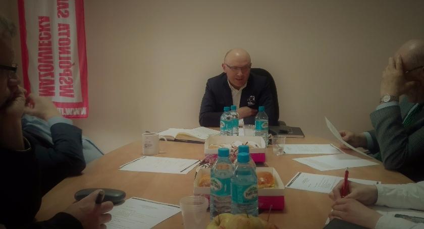 Aktualności, Zebranie Sekretariatu Zarządu - zdjęcie, fotografia