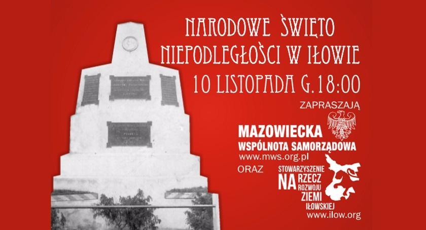 Zaproszenia, Narodowe Święto Niepodległości Iłowie - zdjęcie, fotografia