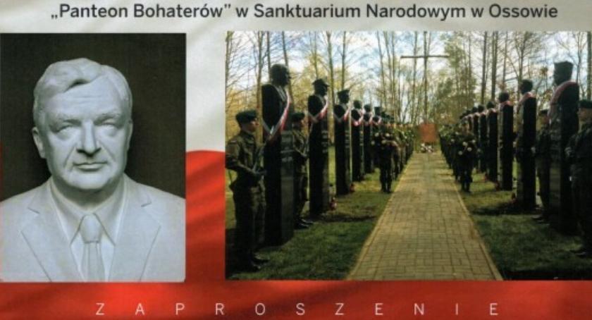 Zaproszenia, Odsłonięcie pomnika Zbigniewa Wassermanna [ZAPROSZENIE] - zdjęcie, fotografia