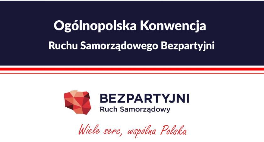 Zaproszenia, Ogólnopolska Konwencja Ruchu Samorządowego Bezpartyjni - zdjęcie, fotografia