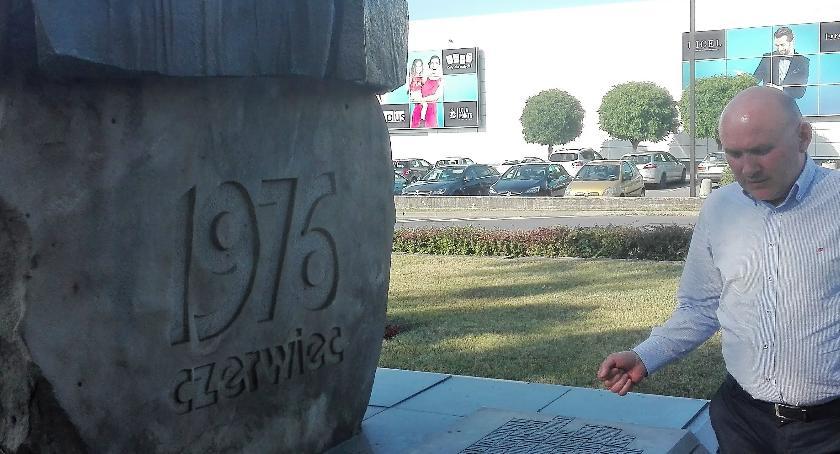 Aktualności, rocznica protestów robotniczych Ursusie - zdjęcie, fotografia