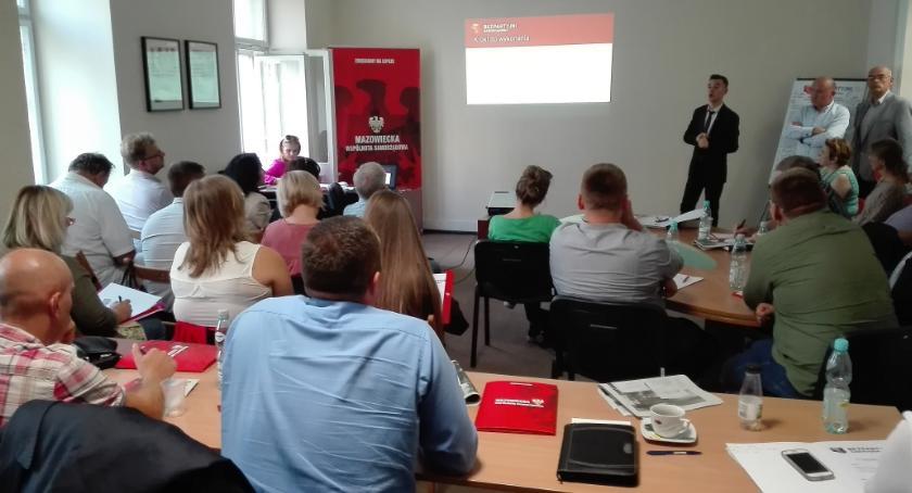 Aktualności, Szkolenie kandydatów Sejmiku - zdjęcie, fotografia