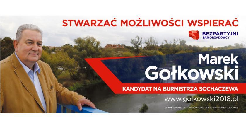 News, Marek Gołkowski Słucham wszystkich nikogo pomijam - zdjęcie, fotografia