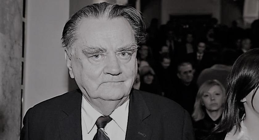 Aktualności, Zmarł były Premier - zdjęcie, fotografia