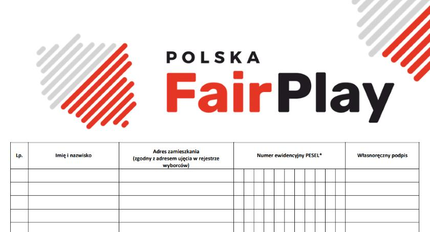 News, Ruszyła zbiórka podpisów Polska - zdjęcie, fotografia