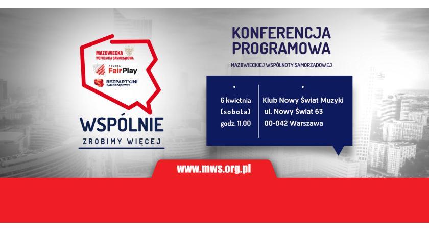 Zaproszenia, kwietnia Konferencja Programowa [ZAPROSZENIE] - zdjęcie, fotografia