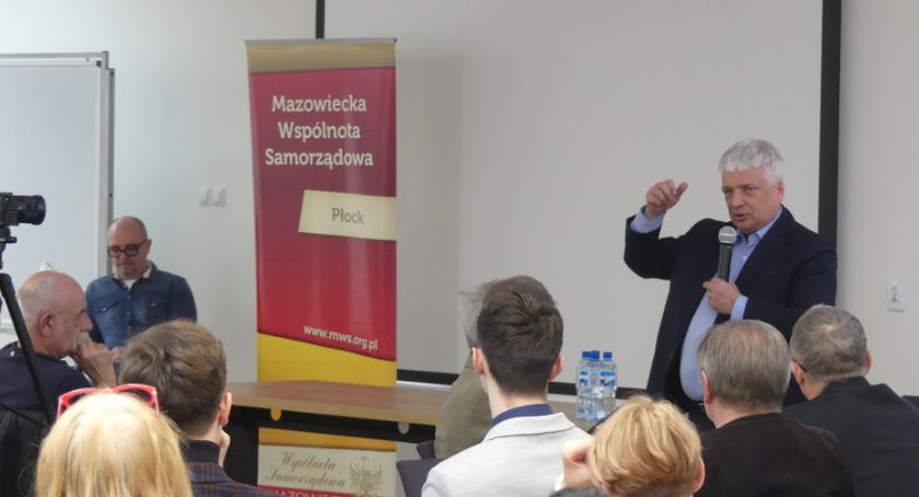 Aktualności, Robert Gwiazdowski Płocku - zdjęcie, fotografia