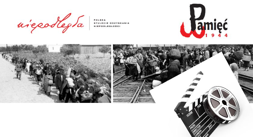 """Pamięć 1944 Piastów - news, Projekcja filmu """"Exodus Warszawy 1944"""" Kinie Baśń Piastowie - zdjęcie, fotografia"""