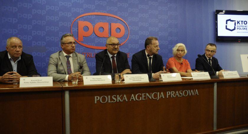 Wybory 2019, Inauguracja Koalicja Bezpartyjni Samorządowcy - zdjęcie, fotografia