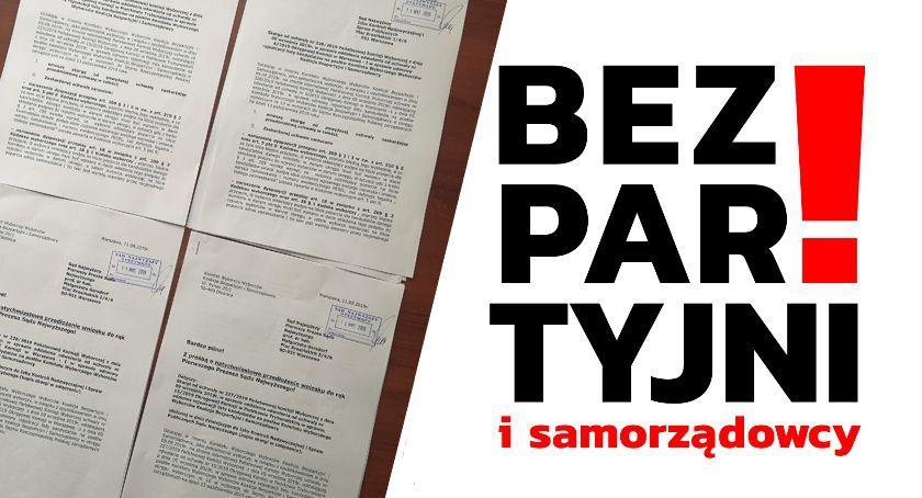 Wybory 2019, Bezpartyjni Samorządowcy zarzucają nierzetelność Złożyli skargę Sądu Najwyższego - zdjęcie, fotografia