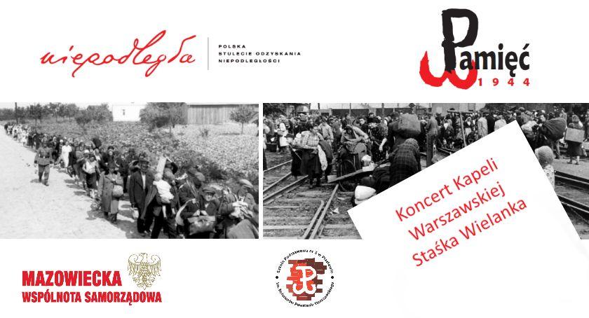 Pamięć 1944 Piastów - news, Spotkanie świadkami historii koncert Kapeli Warszawskiej Piastowie - zdjęcie, fotografia