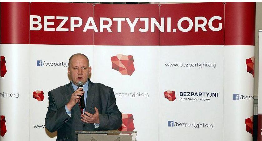 Aktualności, Grzegorz Wysocki Bezpartyjni Samorządowcy skuteczni cierpliwi - zdjęcie, fotografia