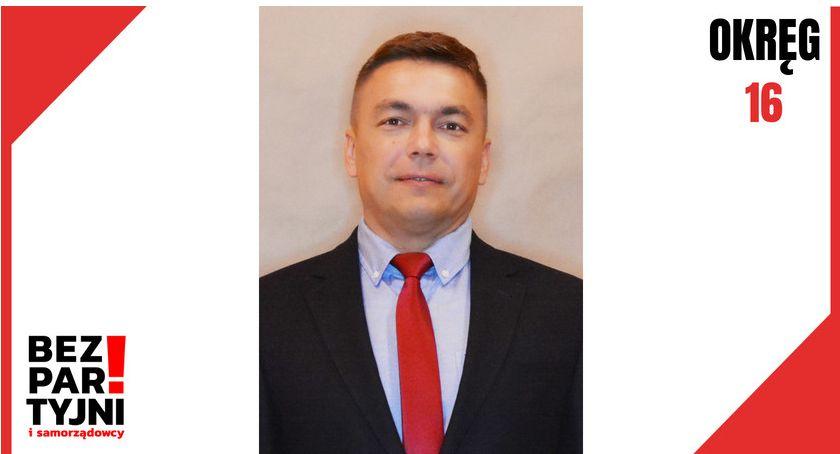 Wybory 2019, Andrzej Kuśmirek/ Okręg - zdjęcie, fotografia