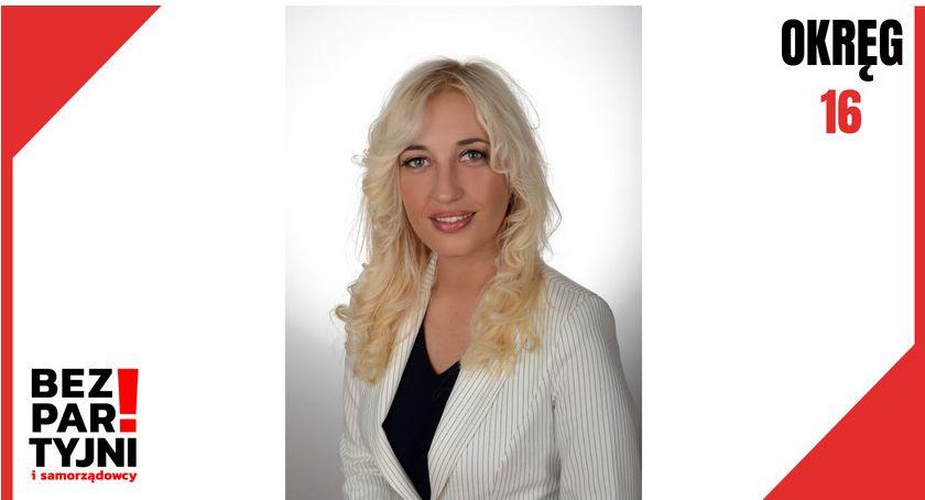 Wybory 2019, Izabela Jakubowska/ Okręg - zdjęcie, fotografia