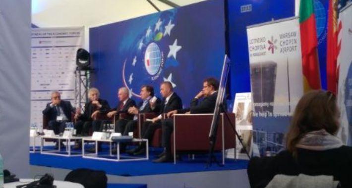 Debaty Europejskie - relacje, Wspólnota Polska podpisała porozumienia współpracy - zdjęcie, fotografia