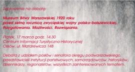 Zaproszenie na debatę do Ossowa